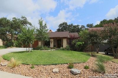San Antonio Single Family Home Price Change: 1939 Creek Hollow