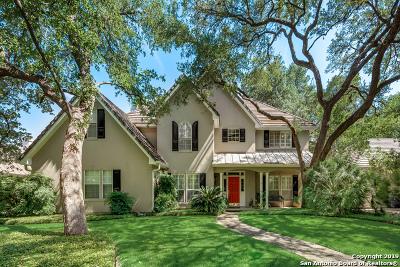 San Antonio Single Family Home For Sale: 7 Glendalough Ct