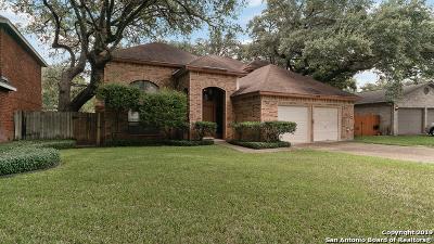 San Antonio TX Single Family Home For Sale: $349,999