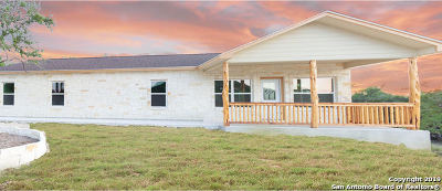Bandera County Single Family Home For Sale: 244 Quail Creek Ln