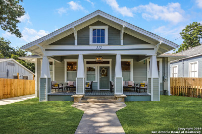 San Antonio Single Family Home For Sale: 512 E Mistletoe Ave