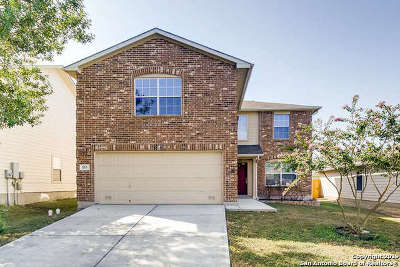 Cibolo Single Family Home Active Option: 353 Prickly Pear Dr