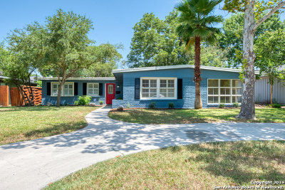 San Antonio Single Family Home For Sale: 523 Brightwood Pl