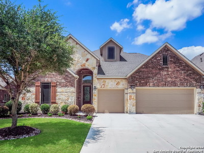 Boerne Single Family Home Price Change: 8255 Mystic Chase