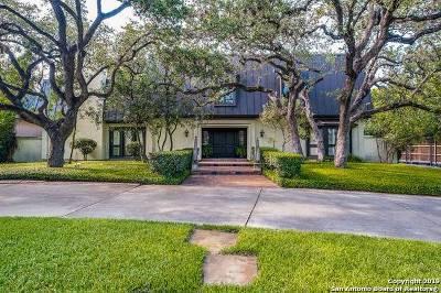 San Antonio Single Family Home Active Option: 127 Rockhill Dr