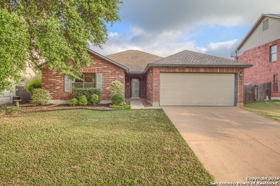 Schertz Single Family Home For Sale: 1524 Jasmine