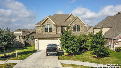 Cibolo Single Family Home Price Change: 809 Alpino