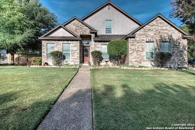 Fair Oaks Ranch Single Family Home For Sale: 29723 Fairway Vista Dr