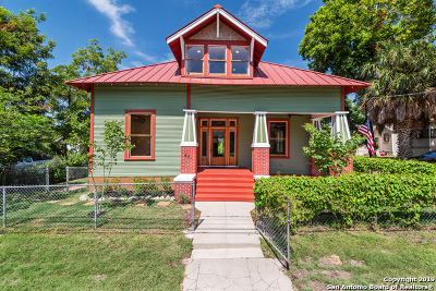 San Antonio Single Family Home For Sale: 421 Spofford Ave