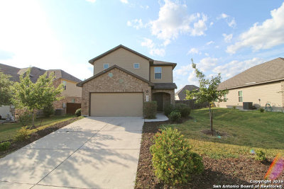 Schertz Single Family Home Price Change: 2821 Mistywood Ln