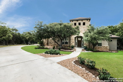 San Antonio Single Family Home Price Change: 25319 Singing Rain