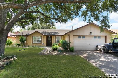 Universal City Single Family Home Active Option: 514 Westoak