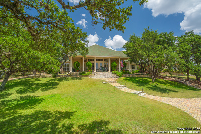 Boerne Single Family Home For Sale: 109 Caprock Circle