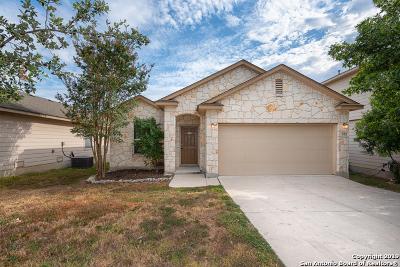 San Antonio Single Family Home Price Change: 552 Red Quill Nest