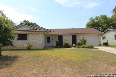 Schertz Single Family Home Active Option: 1012 Richmond Dr