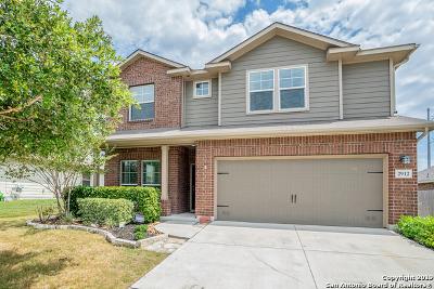 Schertz Single Family Home For Sale: 2912 Mineral Springs