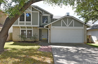 San Antonio Single Family Home For Sale: 16615 Crystal Glade