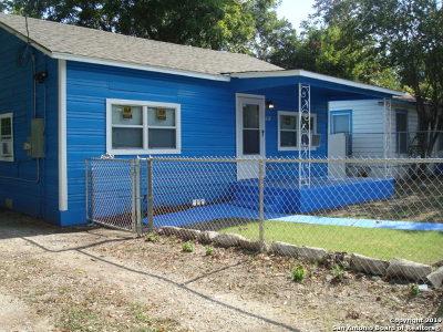 San Antonio Single Family Home Active Option: 1332 Division Ave