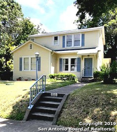 San Antonio Single Family Home New: 340 Wildrose Ave