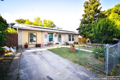 San Antonio TX Single Family Home Back on Market: $115,000