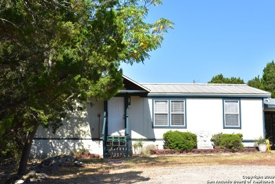 Bulverde, Spring Branch, Canyon Lake Manufactured Home Active Option: 565 Qappuella Dr
