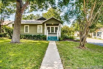 Alamo Heights Single Family Home For Sale: 440 Argo Ave