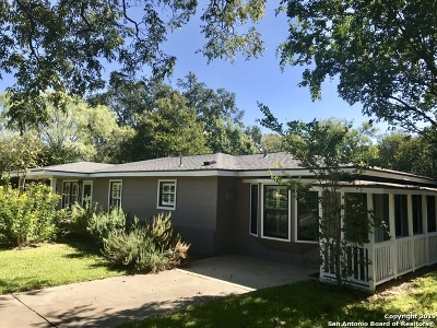 Terrell Hills Single Family Home For Sale: 636 Rittiman Rd
