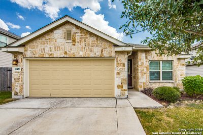 Converse Single Family Home For Sale: 10438 Brisbane River
