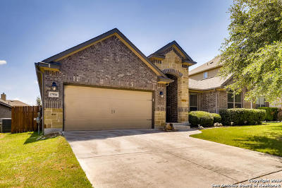 Helotes Single Family Home Price Change: 17914 Oxford Mt