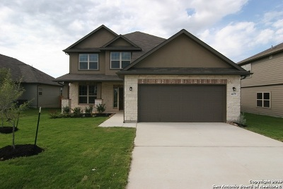 Schertz Single Family Home New: 4679 Grey Sotol Way