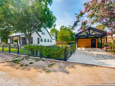 Boerne Single Family Home Price Change: 115 E Evergreen St