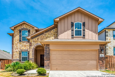 Boerne Single Family Home Active Option: 7611 Mission Pt