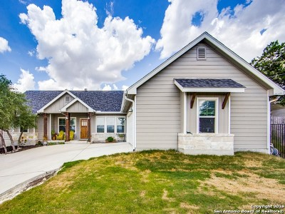 Bulverde, Spring Branch, Canyon Lake Single Family Home Active Option: 157 Cody Ct