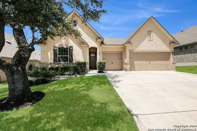 San Antonio Single Family Home Active Option: 25019 Seal Cove