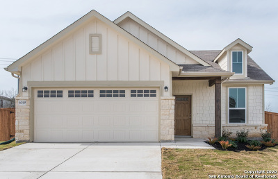 Schertz Single Family Home New: 6049 Grayson Cliff