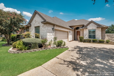 Stone Oak Single Family Home For Sale: 211 Garden Hill