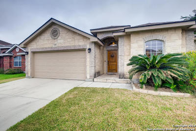 Helotes Single Family Home Active Option: 10427 Tollow Way