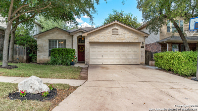 Helotes Single Family Home New: 14614 Sonora Fls