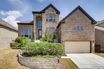 Stone Oak Single Family Home For Sale: 930 Gazania Hill