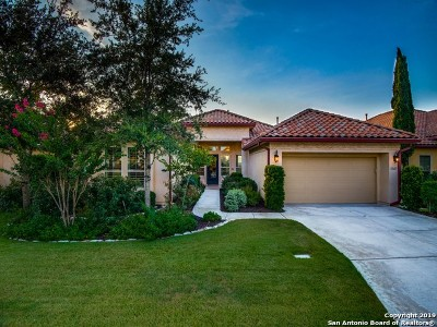 Bexar County Single Family Home Active Option: 18627 Corsini Dr