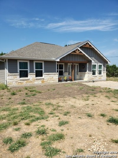 Canyon Lake Single Family Home Active Option: 631 Spike Buck Run