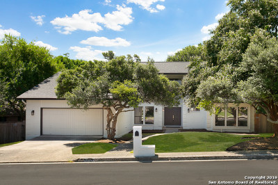 San Antonio Single Family Home Active RFR: 13134 Queens Forest St