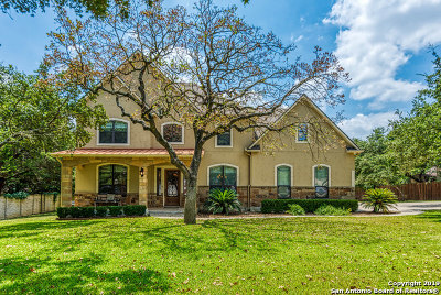 San Antonio Single Family Home For Sale: 26611 Dancing Bear