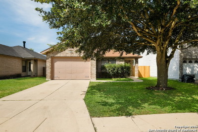 Converse Single Family Home Active Option: 6837 Saharastone Dr