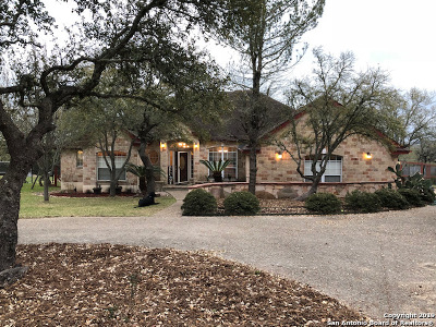 San Antonio Single Family Home Active Option: 318 Starlight Pass