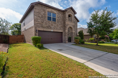 San Antonio Single Family Home Price Change: 7710 Ruger Ranch