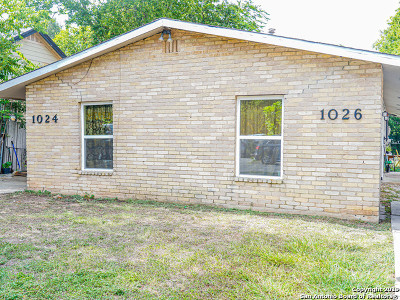 San Antonio Multi Family Home Active Option: 1026 Edison Dr