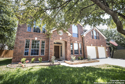 Schertz Single Family Home New: 2468 James Agee Dr