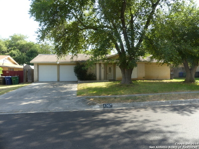 San Antonio TX Single Family Home Back on Market: $129,500