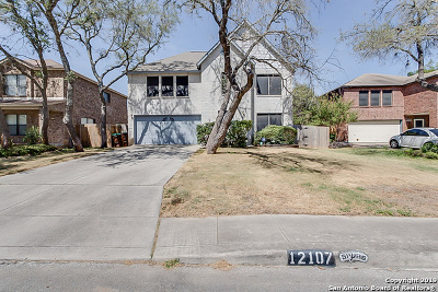 San Antonio Single Family Home New: 12107 Victorian Oaks